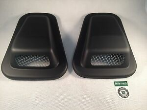 Bearmach Land Rover Defender 90, 110, TD5, Air Intake Wing Top Vent Scoops Pair