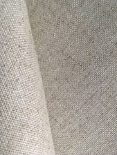Natural Oatmeal 25 count Zweigart Floba Linen mix evenweave fabric 50 x 140 cm