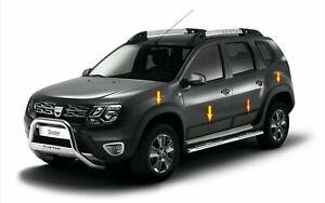 Dacia Duster 2010-2017 garde-boue et moulure de porte ABS kit carrosserie 12 pcs