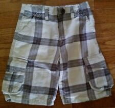 Gymboree  Plaid Cargo Shorts EUC Boys Size 5