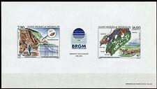 Saint-Pierre et Miquelon Epreuve Luxe Gommée 1995 Yv 619A Missions géologiques