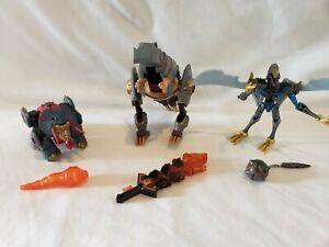 Transformers Animated Dinobots LOT Grimlock Snarl Swoop * Complete*