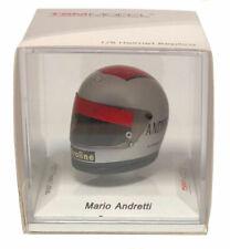 Truescale Miniatures 1977 Team Lotus Helmet - Mario Andretti 1/8 Scale