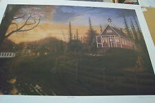 Kept Late artist William Perry 300/1000 Numbered signed