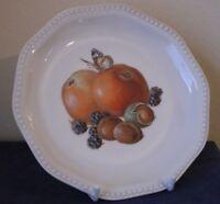 alter Sammelteller Rosenthal Porzellan Obst Schmetterling Teller Ø 20cm Le17i