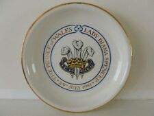 1981pin tray to commemorate royal wedding of charles and diana- boncath pottery