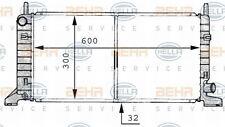 8MK 376 706-661 HELLA Radiatore Raffreddamento Motore