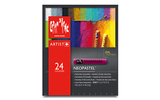 Caran d'Ache NEOPASTEL Soft Oil Pastel 24 Colors Ultra High Quality Artist