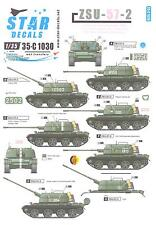 Star Decals 1/35 ZSU-57-2 Soviet Polish & East German Versions