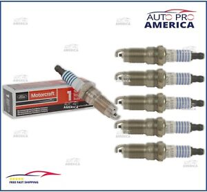 (6)NEW OEM FORD MOTORCRAFT Spark Plugs Ranger Mustang Explorer V6 SP412