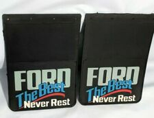 "UNUSED VINTAGE SET OF 18"" x 12"" FLAPS FORD The Best Never Rest"