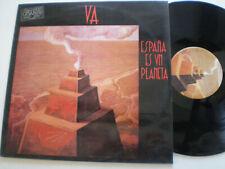 VA España Es Un Planeta SPAIN LP VINYL 1987 Synth Pop New Wave