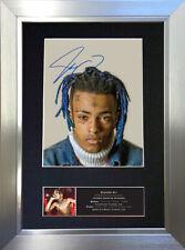 XXX TENTACION Signed Autograph Mounted Photo Reproduction A4 Print 772