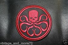 AVENGERS AGENTS OF SHIELD T.V.HYDRA LOGO embroidered Iron on Patch MARVEL