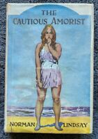 1949 Norman Lindsay THE CAUTIOUS AMORIST with 52 illustrations, free EXPRESS w/w