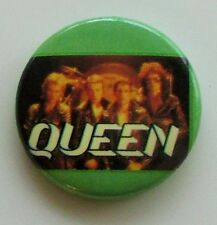 QUEEN OLD METAL BUTTON BADGE FROM THE 1980's CRAZY LITTLE THING CALLED LOVE
