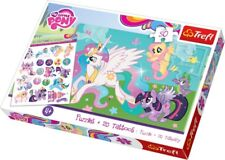 Trefl 50 Piece Puzzle + 20 Tattoo Girls Hasbro My Little Pony Jigsaw Puzzle NEW