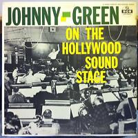 JOHNNY GREEN on the hollywood sound stage LP VG+ E3694 MGM Mono DG  Record