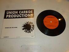 "UNION CARBIDE PRODUCTIONS - San Francisco - 1989 Swedish 2-track 7"" Vinyl Single"