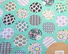 Pottery Barn Teen Standard Pillowcase Sham 26x30  Circle on  Pool Aqua NIP