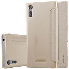 Fundas Nillkin color principal oro para teléfonos móviles y PDAs