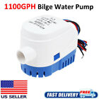 12V 1100GPH Boat Marine Automatic Submersible Auto Bilge Water Pump Float Switch photo