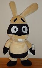 "Lee Bandit Masked Bunny Rabbit 16"" stuffed plush by Caravan Softoys w/Tag"