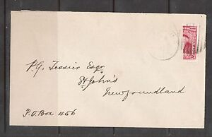 Newfoundland #62i Very Fine Used Bisect On Cover **With Certificate**