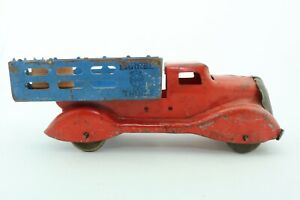 Marx Barrel Delivery Truck - pressed steel - USA - 1940s