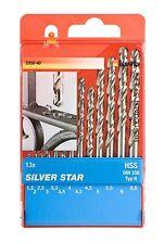 kwb Metallbohrer-Set 13tlg. HSS-G Silver Star  Metallbohrer Spiralbohrer Bohrer