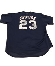 Vintage Atlanta Braves David Justice 90s Jersey Shirt