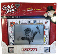 🔥BRAND NEW ETCH A SKETCH 60th Anniversary Monopoly Edition LIMITED EDITION