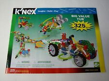 KNEX INSTRUCTION MANUAL ONLY 325-Piece 12066/04856 Big Value Tub Instructions Bk