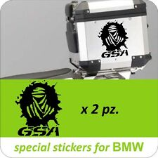 2 Adesivi Stickers Moto BMW R 1200 1150 1100 800 gs adventure Dakar GSA Baule