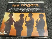 """RARE! CD DIGIPACK """"FRENCH 60'S EP COLLECTION : LES FINGERS, VOLUME 2"""""""