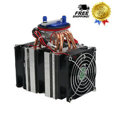 12V Thermoelectric Refrigeration Water Chiller Cooling System for 40L Fish Tank