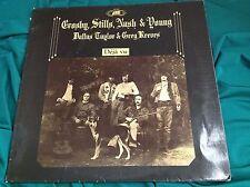 German Press Rock LP : Crosby, Stills, Nash & Young ~ Deja Vu ~ Atlantic