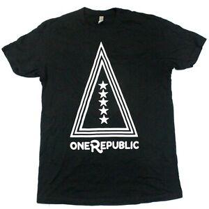 OneRepublic Triangle Logo Tee - Next Level Apparel - Black - M