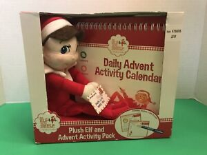 The Elf on the Shelf Plush Elf and Advent Activity Pack NEW