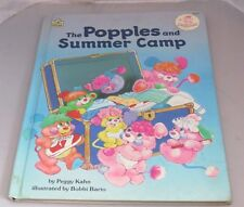 Vintage 1986 80's The Popples and Summer Camp book