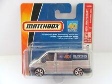 Matchbox Superfast 37m Ford Transit - DUNTON - Mint/Boxed
