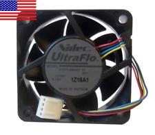 Nidec UltraFlow 60mm x 25mm 12V 4-Pin Variable Speed PWM Fan