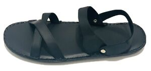 Genuine Leather Sandal Men#Stitched Shoes#Slip On Handmade From Thailand