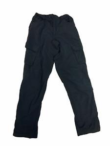 Endura Lightweight Cycling Black Cargo Pocket Trousers END01 Grade B