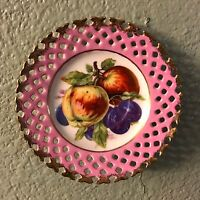 Vintage LM Royal Halsey Very Fine China Saucer
