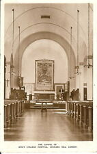 London: The Chapel of King's College Hospital, Denmark Hill - Unposted c.1930