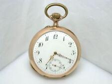 Markenlose Taschenuhren aus Massivgold mit 12-Stunden-Zifferblatt