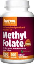 Jarrow Formulas Methyl Folate 1000mcg 100 caps (folic acid)