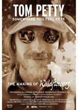 TOM PETTY SOMEWHERE TO FEEL FREE WILDFLOWERS MOVIE PROMO A4 SHEET MINI POSTER