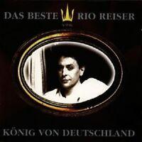 """RIO REISER """"KÖNIG VON DEUTSCHLAND"""" CD NEUWARE"""